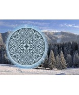 Winter Circle cross stitch chart AAN Alessandra Adelaide Needleworks  - $16.20