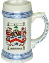 Abhircrombie Coat of Arms Stein / Family Crest Tankard Mug - $21.99