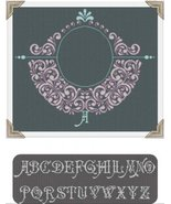 Jewel 2 cross stitch chart AAN Alessandra Adelaide Needleworks  - $16.20