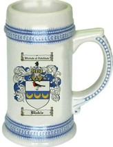 Blakie Coat of Arms Stein / Family Crest Tankard Mug - $21.99