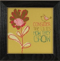 Conside The Lilies 2015 Amylee Weeks beaded button kit Mill Hill - $15.30