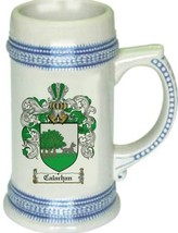 Calachan Coat of Arms Stein / Family Crest Tankard Mug - $21.99
