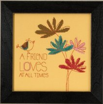 A Friend Loves 2015 Amylee Weeks beaded button kit Mill Hill - $15.30