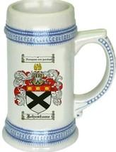 Johnstume Coat of Arms Stein / Family Crest Tankard Mug - $21.99