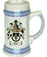 Hess Coat of Arms Stein / Family Crest Tankard Mug - $21.99