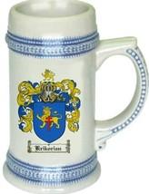 Krikorian Coat of Arms Stein / Family Crest Tankard Mug - $21.99