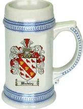 Wadsley Coat of Arms Stein / Family Crest Tankard Mug - $21.99