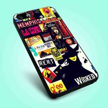 Wicked Broadway Collage iPhone 4 4S 5 5S 5C 6 Samsung Galaxy S3 S4 S5 Case - $12.99