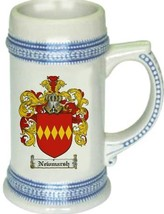 Newmarsh Coat of Arms Stein / Family Crest Tankard Mug - $21.99