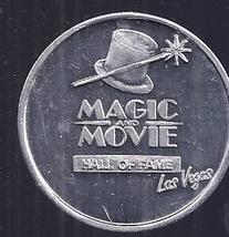 MAGIC MOVIE HALL OF FAME LAS VEGAS Aluminum Doubloon - $1.95