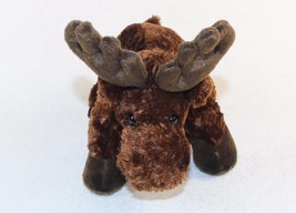 "7"" Moose Beanbag  Plush Animal, Stands or Sits, Brand New w/Tags, Free S... - $8.77"