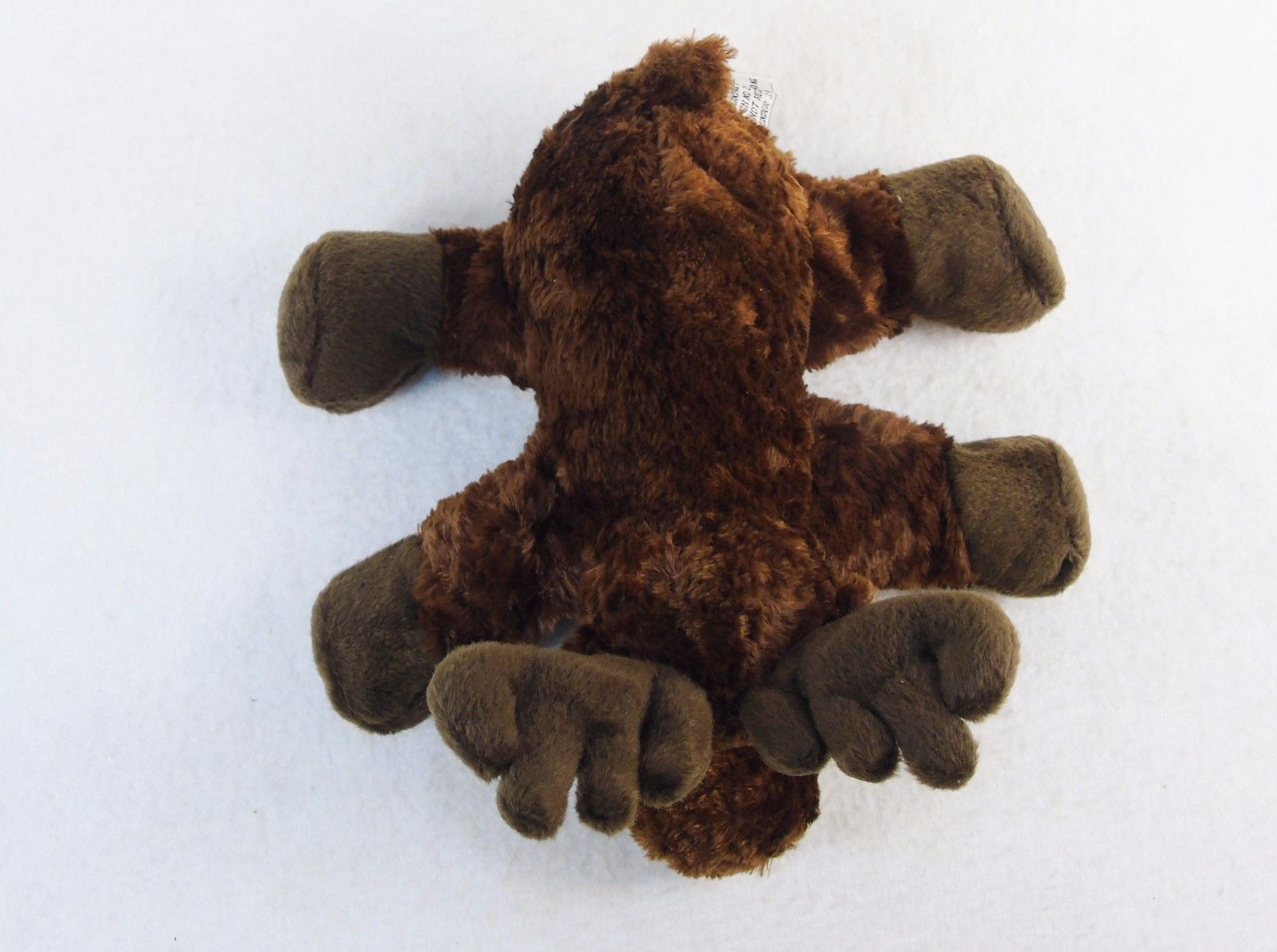 """7"""" Moose Beanbag  Plush Animal, Stands or Sits, Brand New w/Tags, Free Shipping!"""