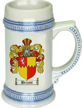 Bezzant Coat of Arms Stein / Family Crest Tankard Mug - $21.99