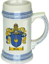 Bialy Coat of Arms Stein / Family Crest Tankard Mug - $21.99