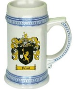 Ernst Coat of Arms Stein / Family Crest Tankard Mug - $21.99