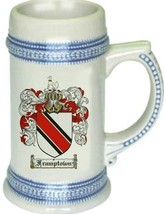 Framptown Coat of Arms Stein / Family Crest Tankard Mug - $21.99