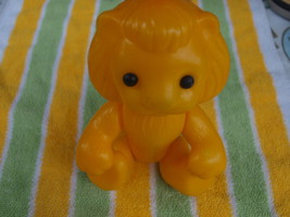 Vintage USSR Soviet Russian Plastic Toy Lion About 1970 - $12.86
