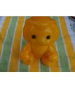 Vintage USSR Soviet Russian Plastic Toy Lion About 1970 - $12.86