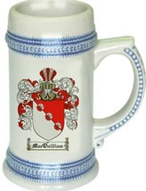 Macquilliam Coat of Arms Stein / Family Crest Tankard Mug - $21.99