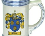 Mallett coat of arms thumb155 crop