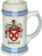 Mcgarraty Coat of Arms Stein / Family Crest Tankard Mug - $21.99