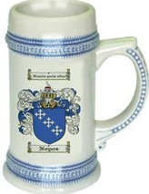 Noyers Coat of Arms Stein / Family Crest Tankard Mug - $21.99