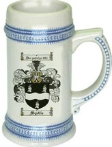 Sydlie Coat of Arms Stein / Family Crest Tankard Mug - $21.99