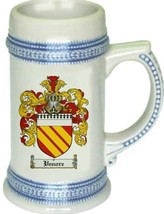 Venore Coat of Arms Stein / Family Crest Tankard Mug - $21.99