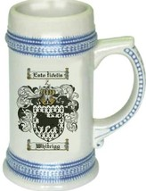 Whitrigg Coat of Arms Stein / Family Crest Tankard Mug - $21.99