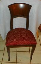 Rosewood Italian Desk Chair / Sidechair - $399.00