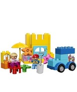 Lego Duplo My First Play Set Child Learn Build Toy Box Toddler Variety B... - $38.95