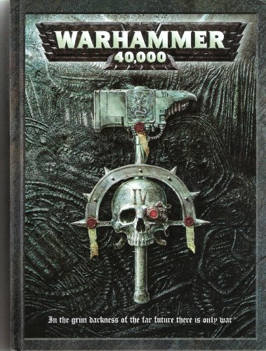 Rulebook Warhammer 40000, 5th edition [Hardcover]