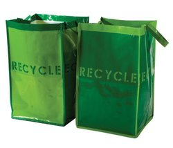 G.U.S. Recycle Bins for Home and Office - Set of 2. Waterproof Bags with... - $12.73