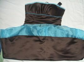 Mari Lee by Madeline Gardner Women's Sleeveless Prom Dress 9/10 Brown NWT - $18.70