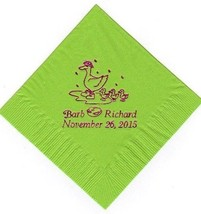 Mother Goose 50 Luncheon / Dinner Personalized Wedding Special Event Napkins - $14.80+
