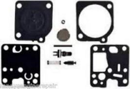 Echo Trimmer weed eater GT 225 Carb Carburetor Rebuild Kit OEM P005001670 Z123Z0 - $14.99