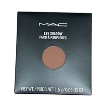 Mac Swiss Chocolate (Matte) Eyeshadow New In Box Full Size Refill Pan Fast Ship! - $13.98