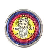 Solomons 1st Pentacle of the Sun Grants All Things Silver Adjustable Ring - $14.95