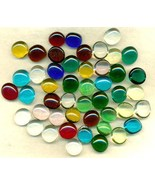 Glass Nugget Style Cabs Lot - $7.99