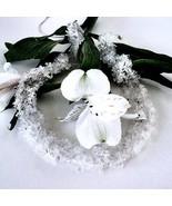 "18"" Women's 430 Ct. White Quart Necklace Sterling Closure Shag Style MSR... - $39.59"