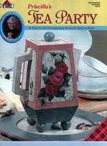 Priscilla's Tea Party Learn to Paint Teapots - $6.35