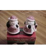 Santa and Bag Holiday Collection Novelty Salt and Pepper Shaker Set - $7.69