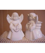 Singing Angel Candleholders ~Set of Two - $6.79