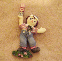 Raggedy Ann's ANDY.... Magnet Enesco - $7.24