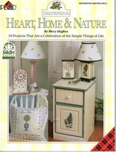 Plaid's HEART HOME & NATURE Folk Art Painting Book - $6.35