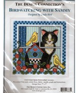 The Design Connection's BIRD WATCHING with SAMMY..Counted Cross Stitch Kit - $13.09