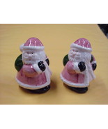 Santa with Bag Salt & Pepper Shakers/Shaker from The Holiday Collection - $5.89