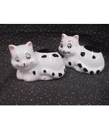 Porcelain Novelty Kitty Salt and Pepper Shaker Set - $5.89