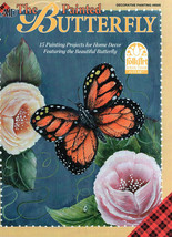 Plaid's Hand Painted Butterfly Book - $5.90
