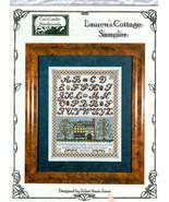 Lauren's Cottage Sampler Cross Stitch Chart Cat's Cradle Needleworks - $9.49